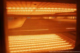 Halogeninių infraraudonųjų spindulių šildytuvų naudojimas pramonėje