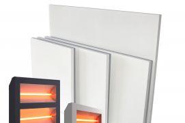 Infraraudonųjų spindulių šildytuvų tipai