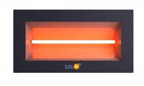 Infraraudonųjų spindulių šildytuvas SolBee SBH 15 C Dark Grey (1,5 kW, 2 m kabelis su kištuku)